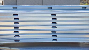 metallic cable trays