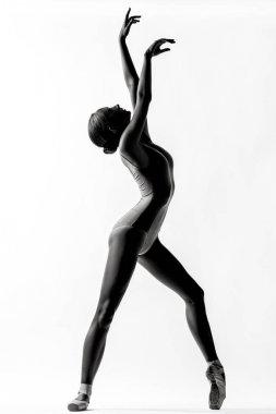 contemporary dancer woman in studio