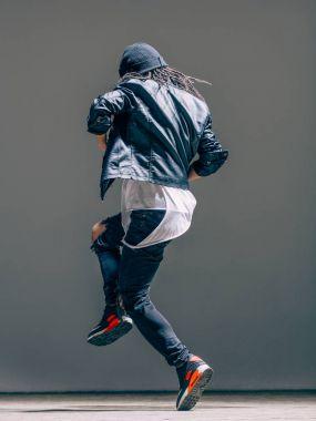 dancer man performing in studio