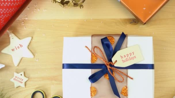 Vánoční balení a holiday karty režie