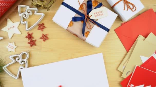 Psaní vánočních přání