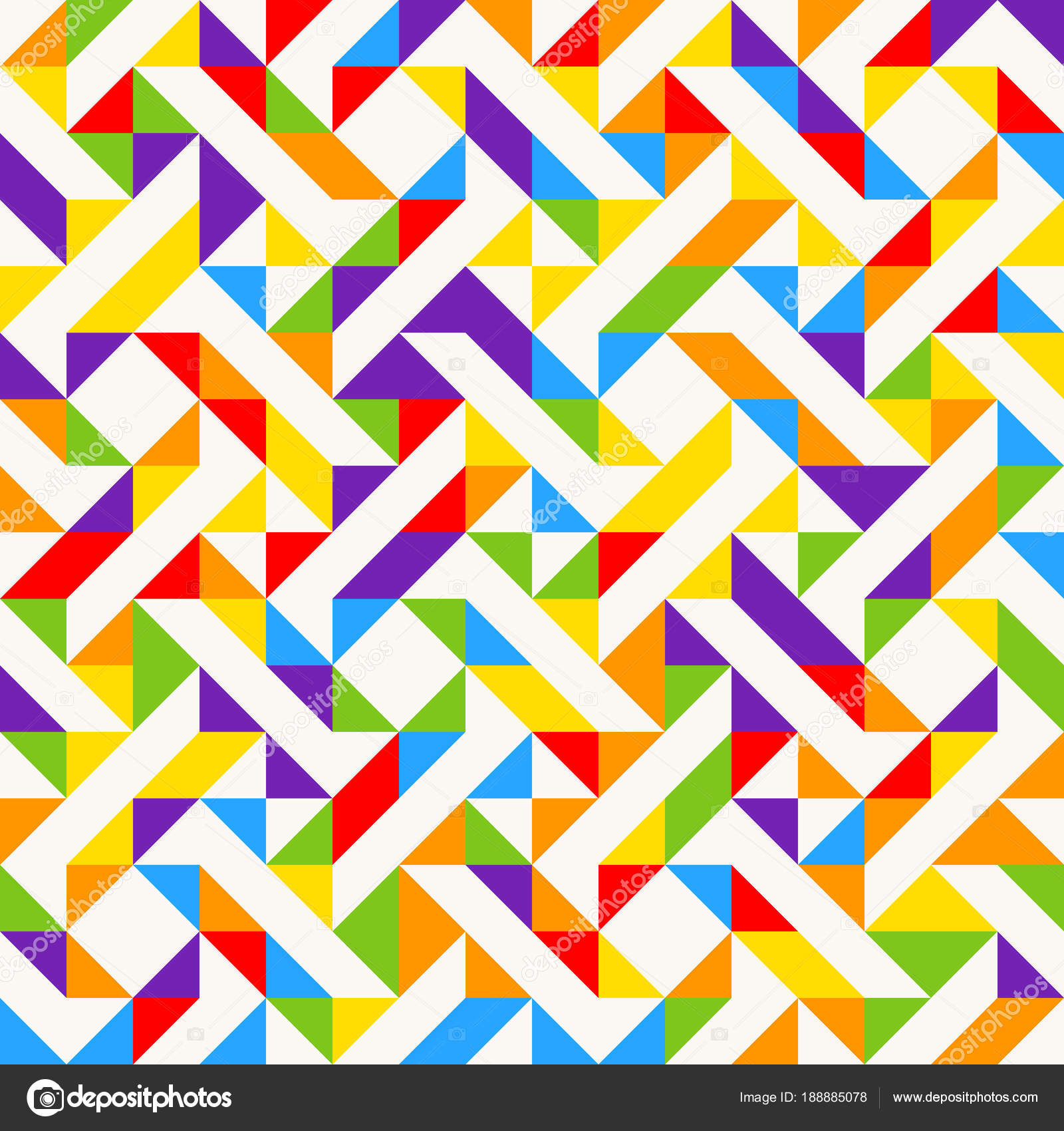 rainbow mosaic tiles abstract geometric background seamless vector pattern stock vector c slanapotam 188885078 https depositphotos com 188885078 stock illustration rainbow mosaic tiles abstract geometric html