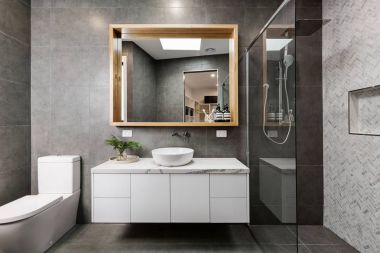 Modern designer bathroom