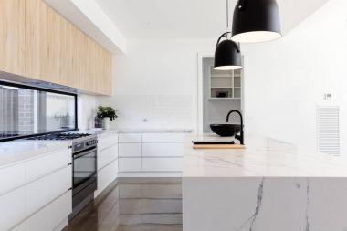 Luxury industrial scandi kitchen