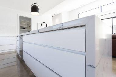 Soft close kitchen drawer