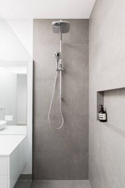 Luxury fully tiled shower