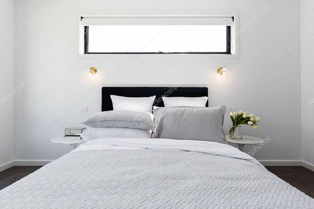 Luxury modern master bedroom
