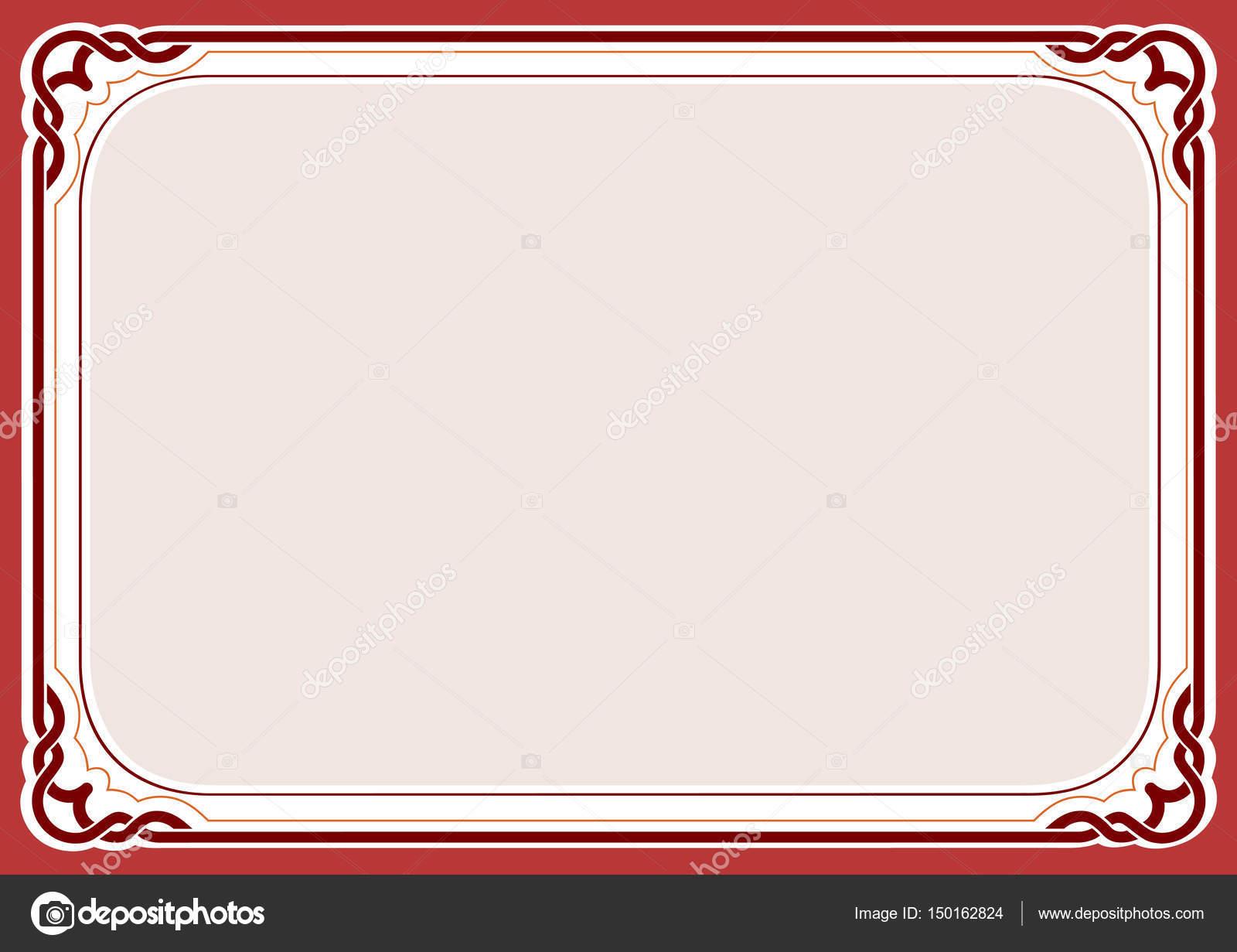 Roter Hintergrund und Rahmen — Stockvektor © topcu #150162824