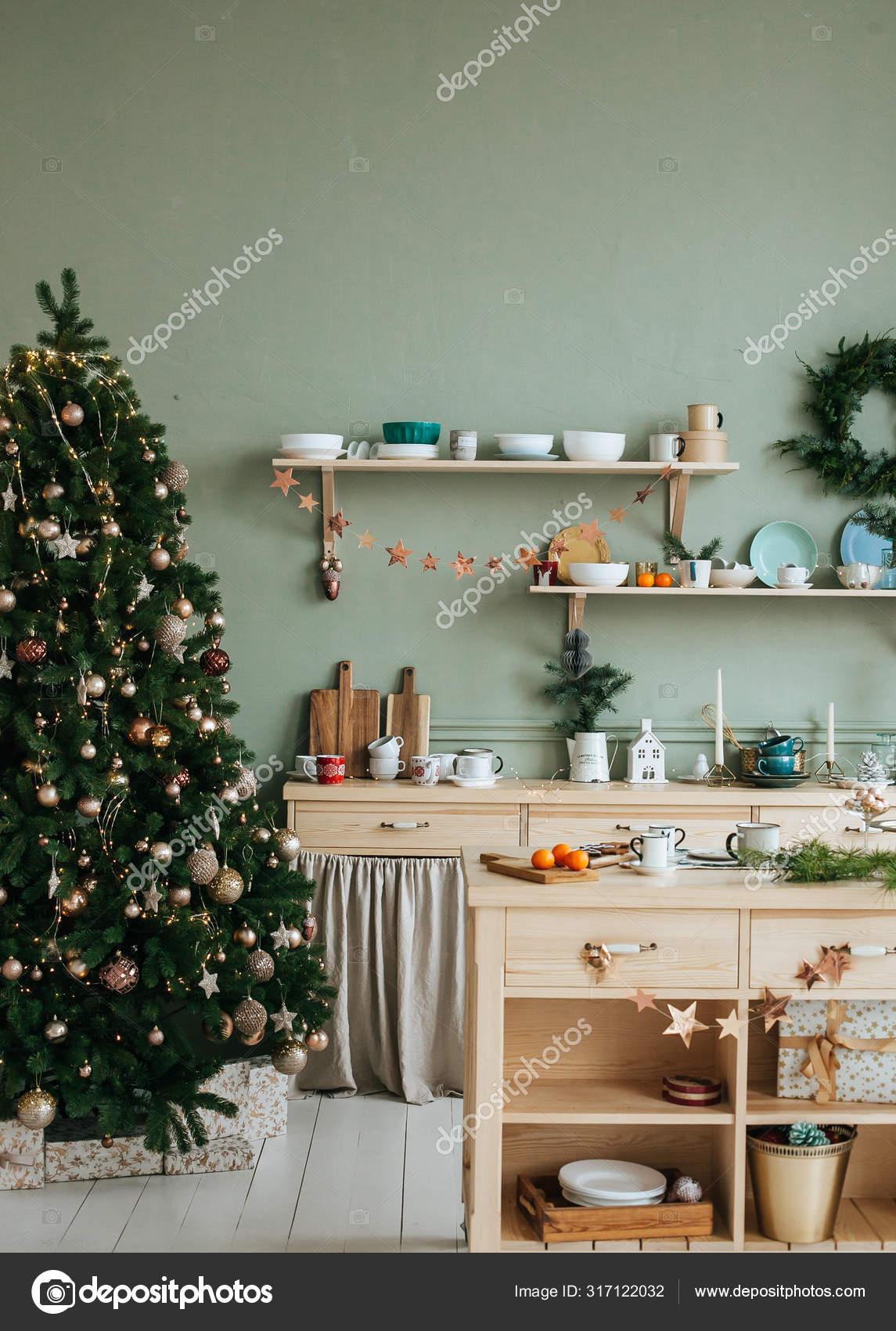 Decoration Apartment Christmas Holidays Stock Photo C Merry Vk 317122032