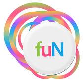 Zábava náhodné barevné kroužky