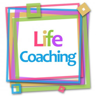 Life Coaching Colorful Frame