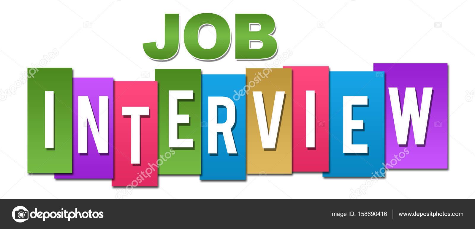 Trabajo entrevista profesional colores — Foto de stock © ileezhun ...
