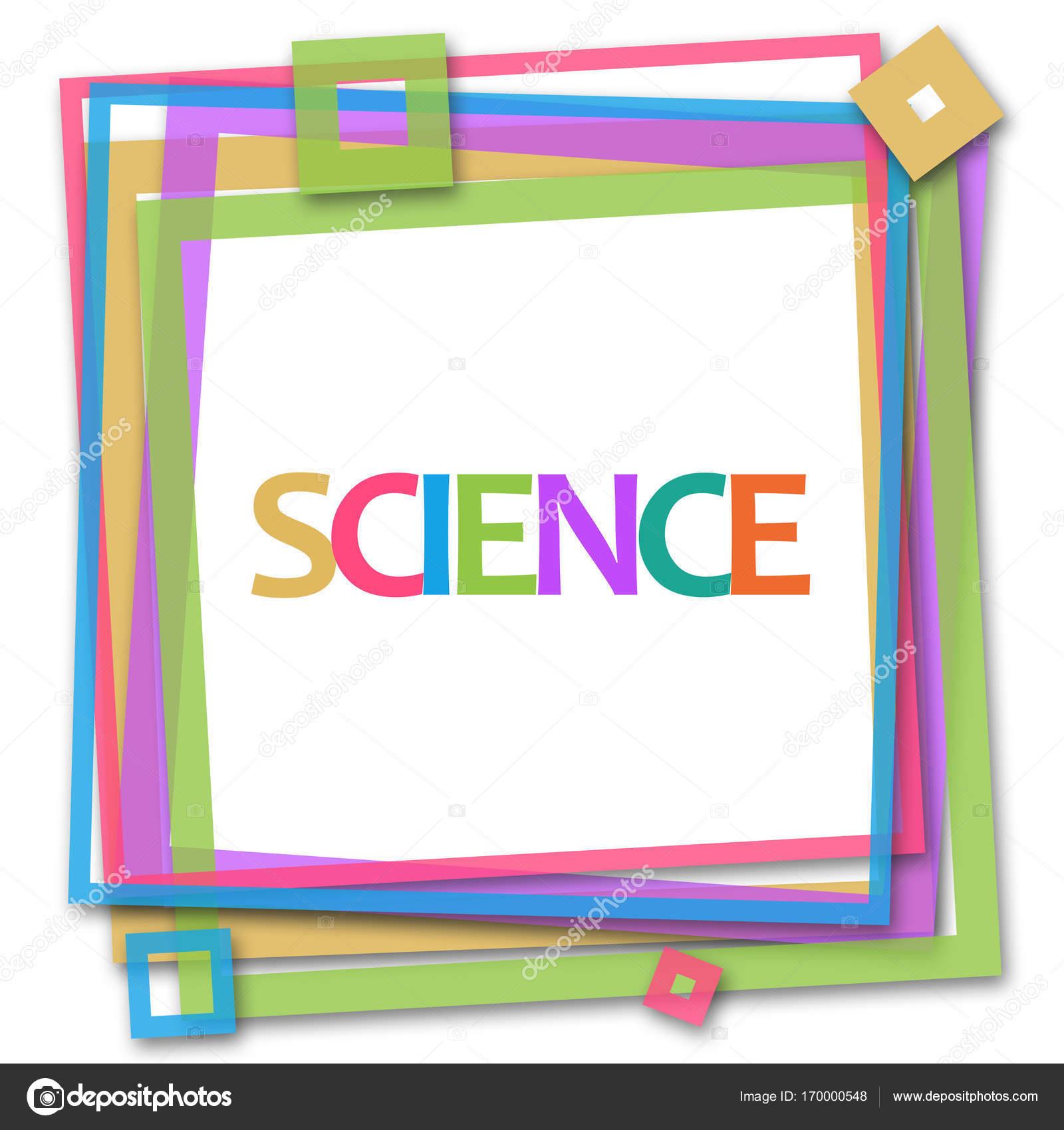 Science Colorful Frame — Stock Photo © ileezhun #170000548
