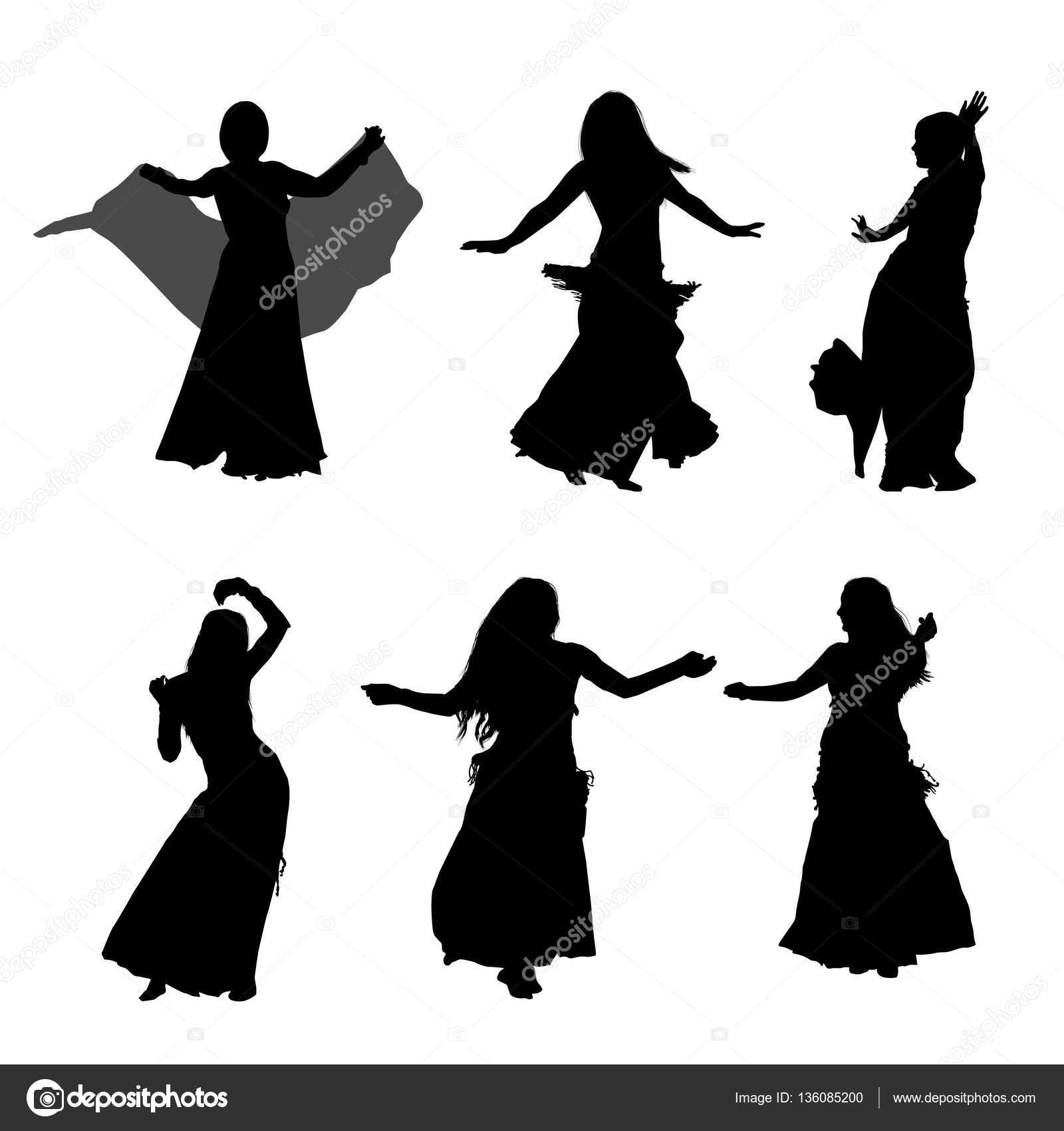oriental bailando