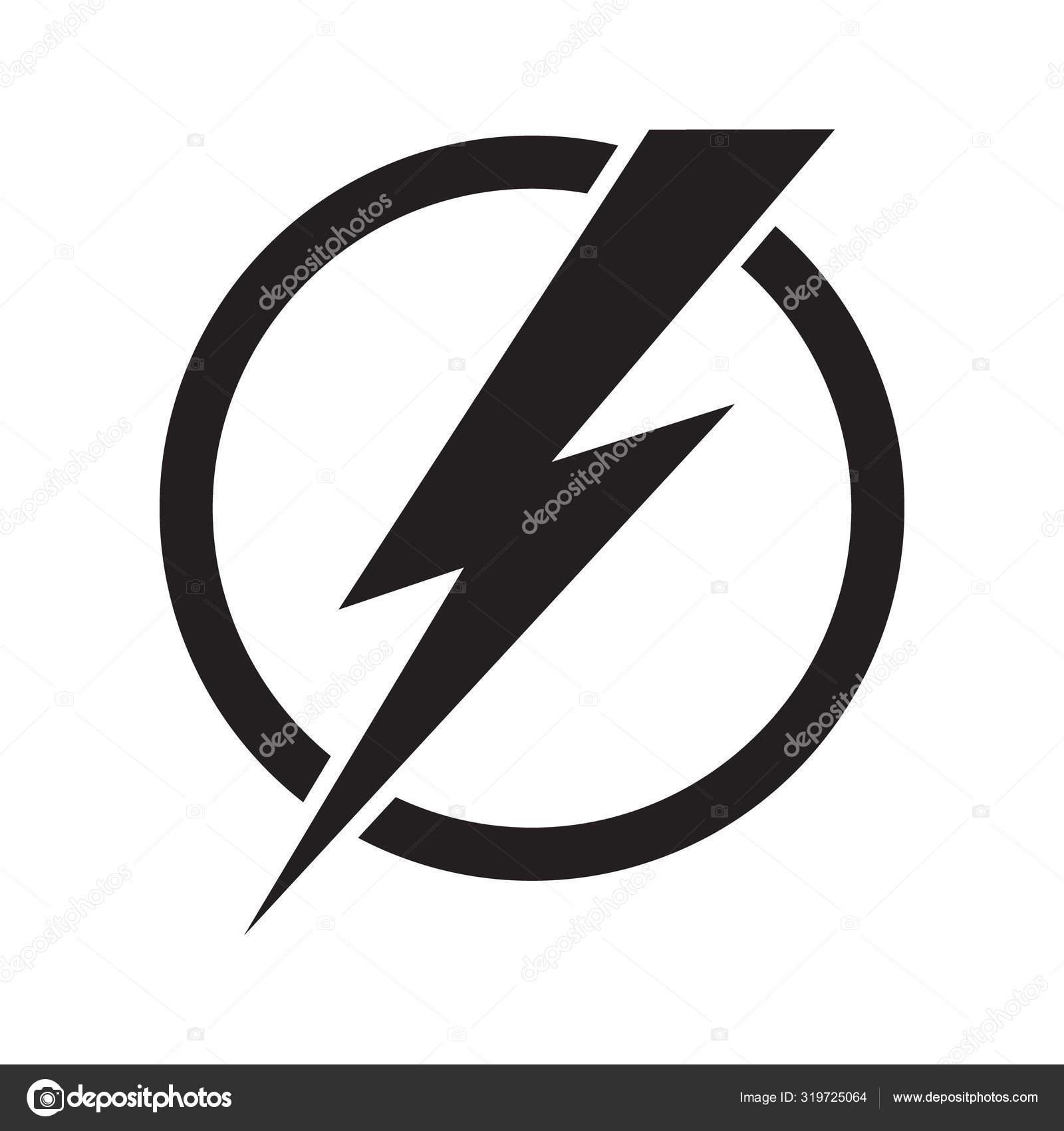 Lightning Electric Power Vector Logo Design Element Energy Thunder ...