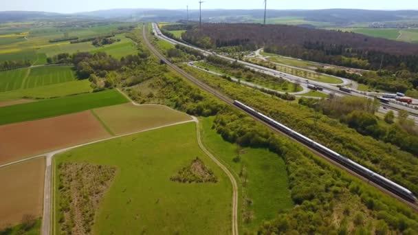Deutsche Autobahn A3 und Ruhebereich