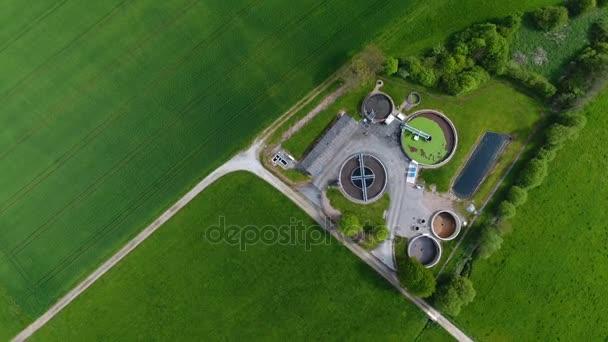 Kläranlage - Luftaufnahme