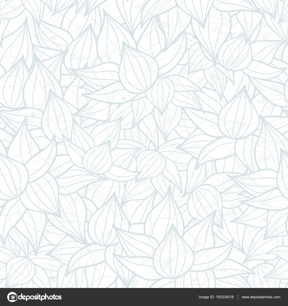 Vektor Leicht Graue Sukkulente Textur Zeichnen Musterdesign