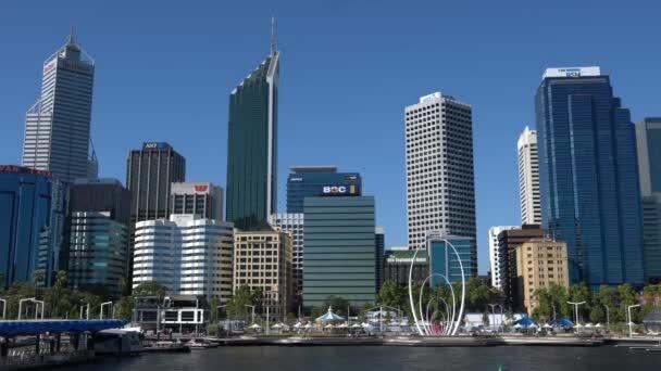 Panoráma města Perth, západní Austrálie