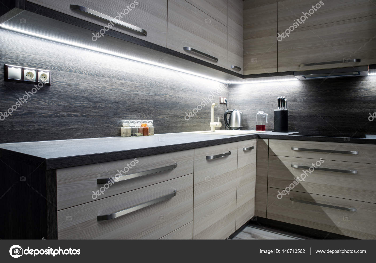 Kitchen Ideas Images Modern Konyhab 250 Tor Stock Fot 243 169 Jarino 140713562