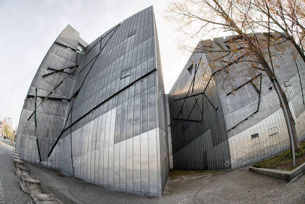 joods museum in berlijn – redactionele stockfoto © jarino #155435610