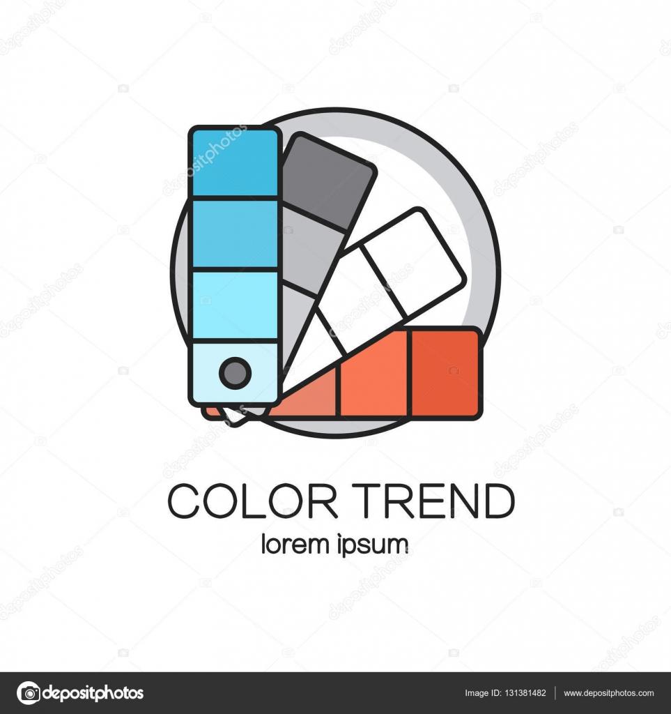 Color palette logotype design templates. — Stock Vector © Ciripasca ...