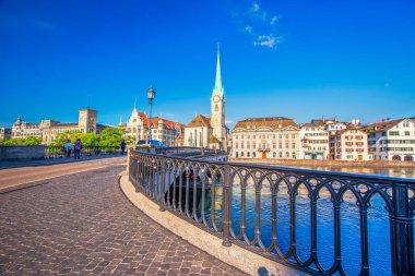 Historic Zurich city center