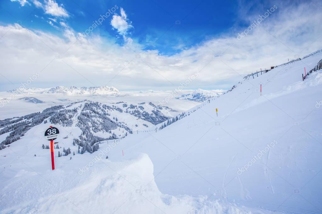 Kitzbuhel ski resort