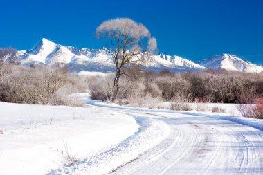 Krivan mountains in High Tatras
