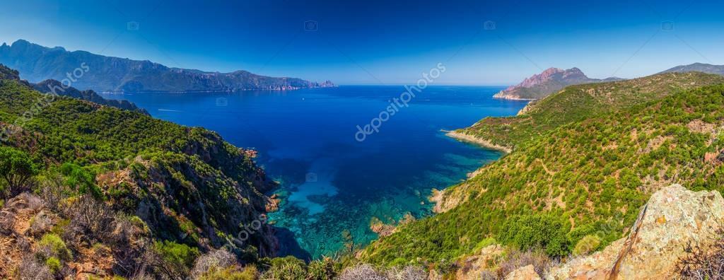 view of Golfe de Girolata