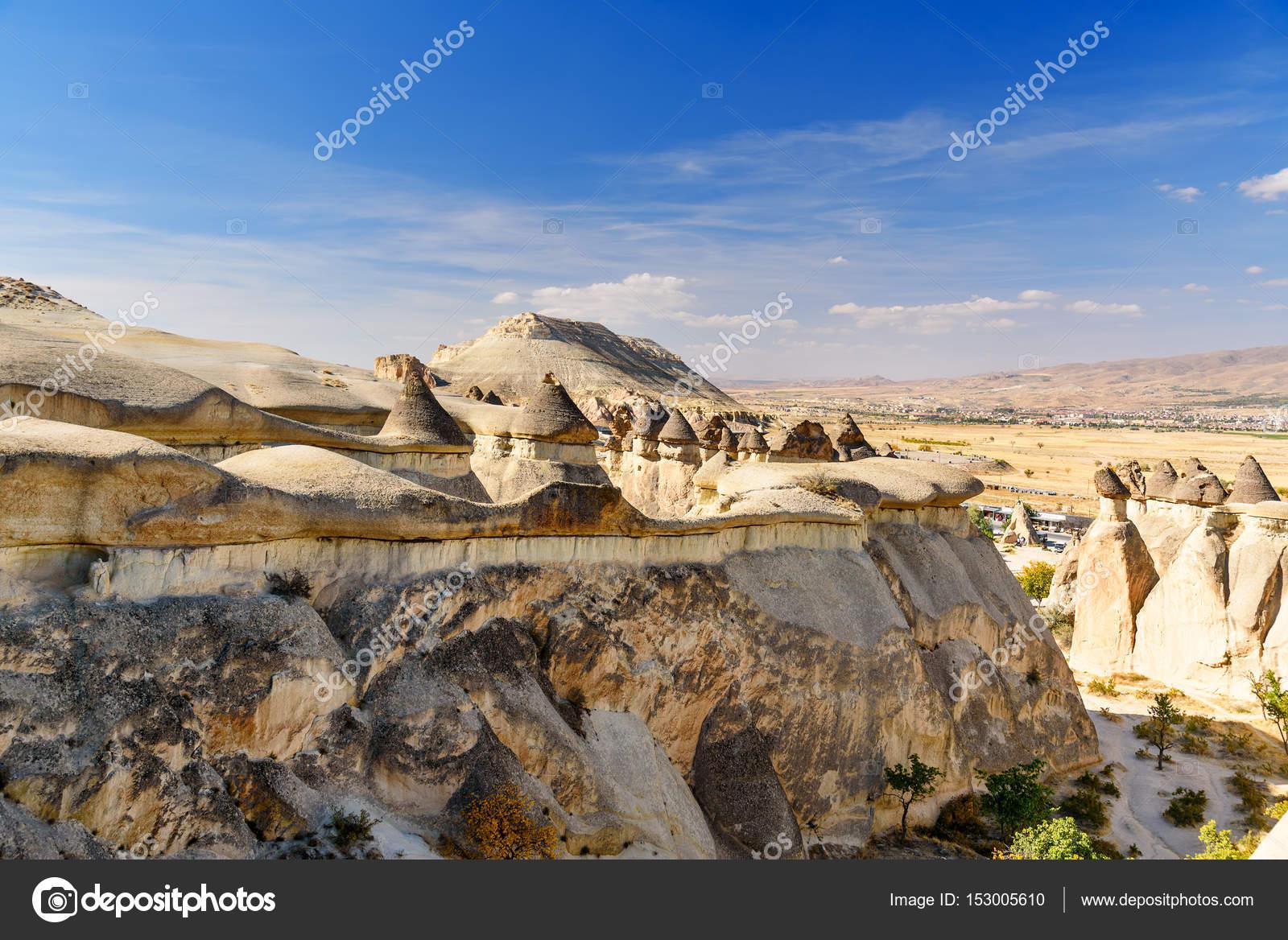 Cheminees De Fees De La Vallee De Pasabag En Cappadoce Turquie