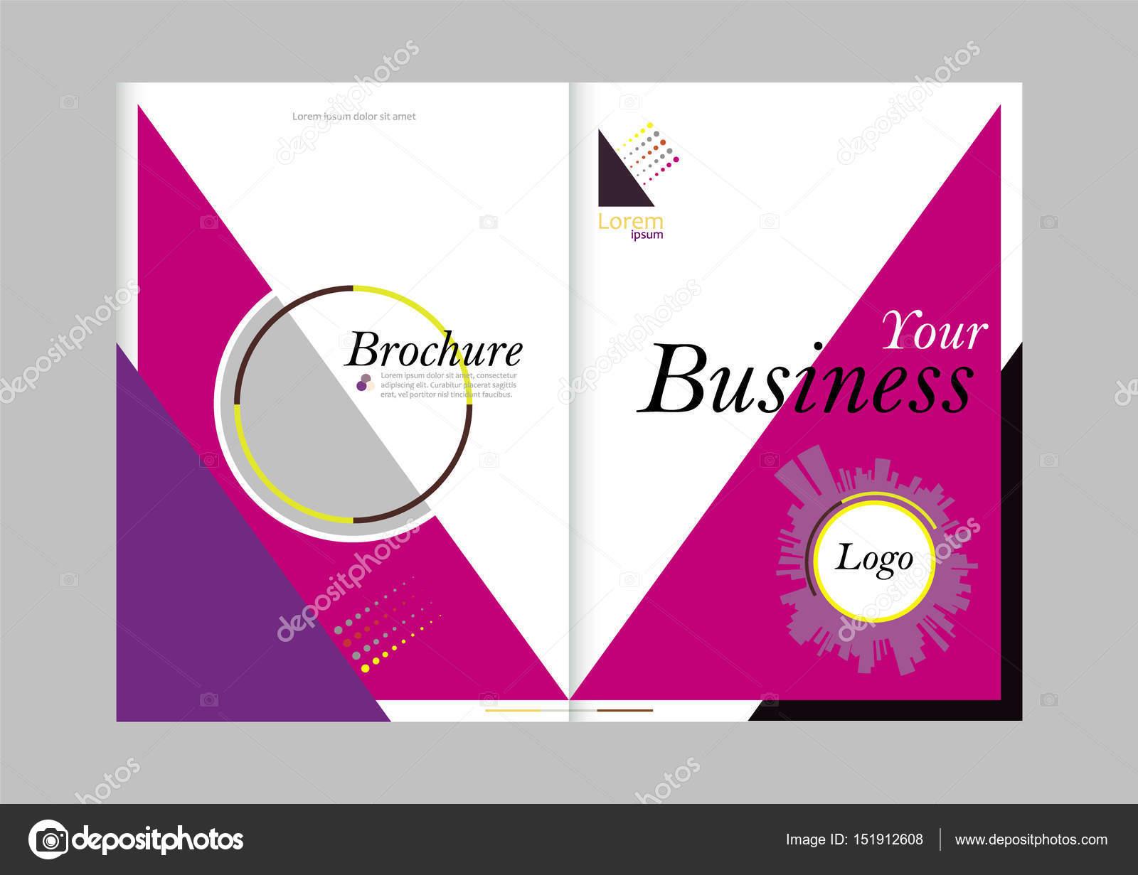 Gemütlich Bifold Broschüre Vorlage Fotos - Beispielzusammenfassung ...