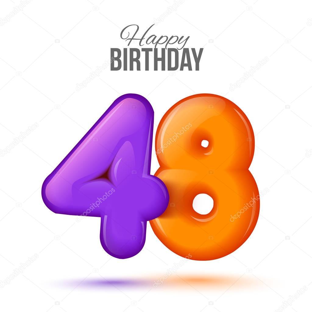 Поздравление папе 48 лет