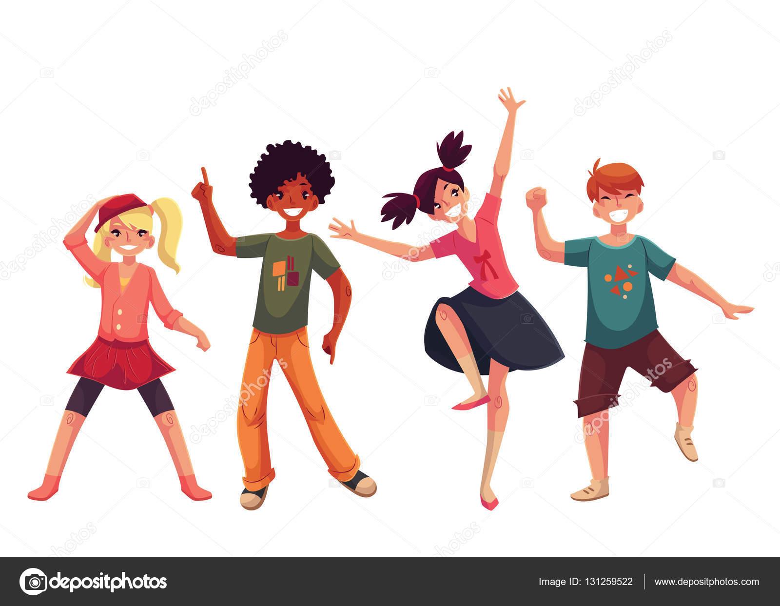 Imágenes: Niños Pequeños Bailando