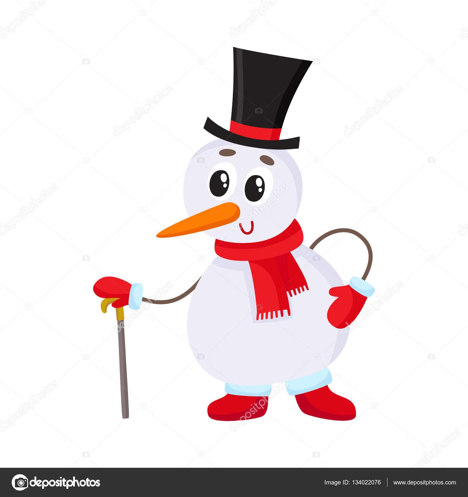Mignon et dr le petit bonhomme de neige au chapeau - Chapeau bonhomme de neige ...