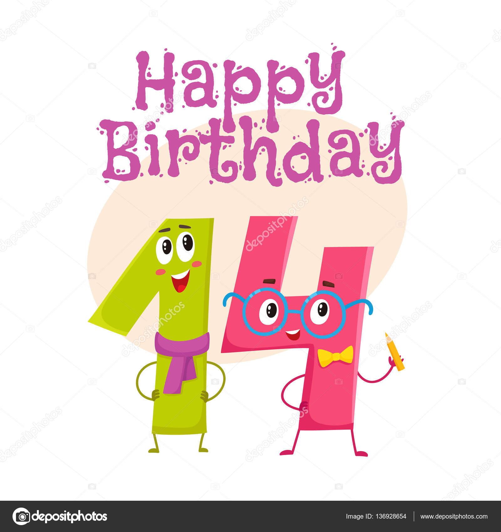 Cartolina D'auguri Di Buon Compleanno Design Con