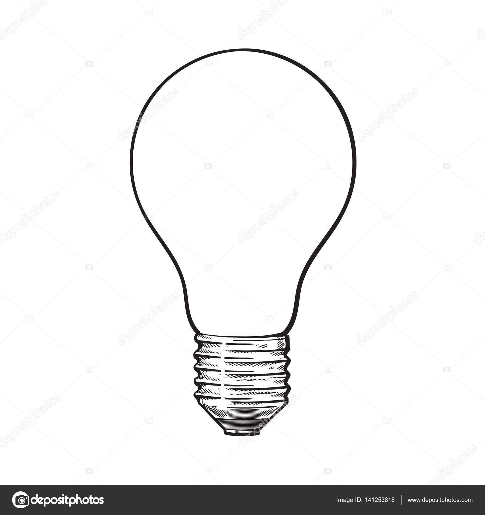 bombilla de tungsteno mate  opaco  vista lateral  dibujo light bulb vector art light bulb vector clip art