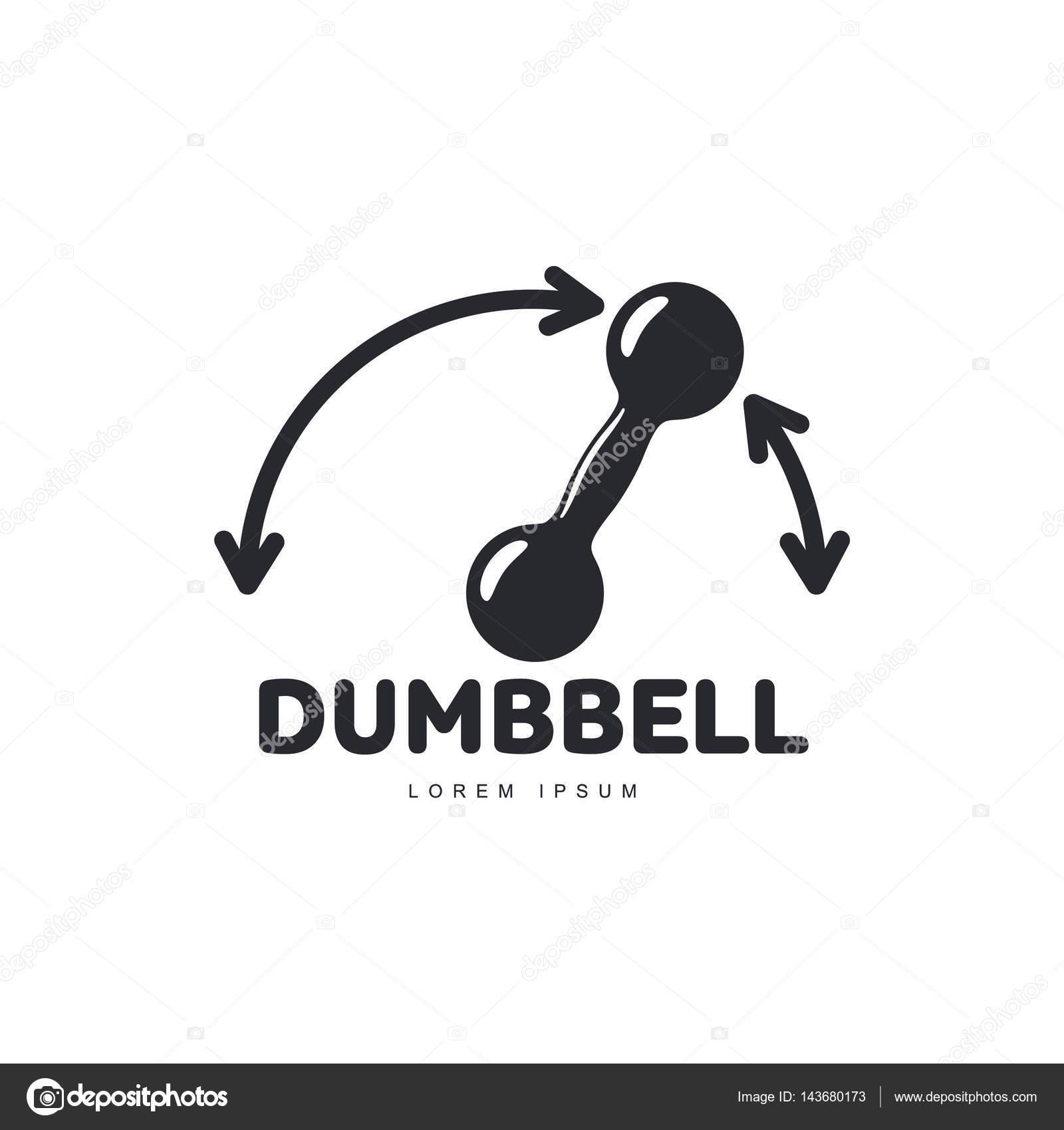 Plantilla de logo gráfico con flechas mostrando la dirección y ...