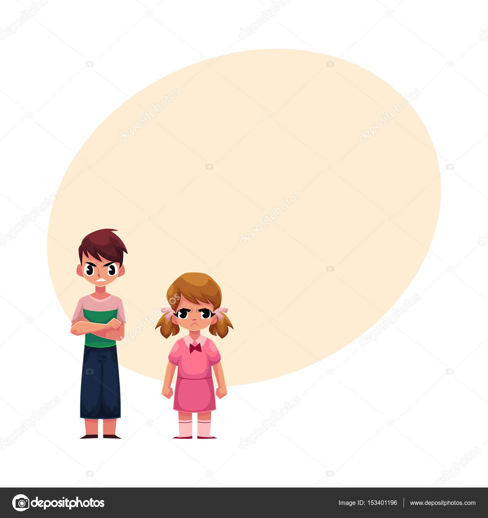 Dzieci Mile Widziana Chłopiec Z Założonymi Na Piersi