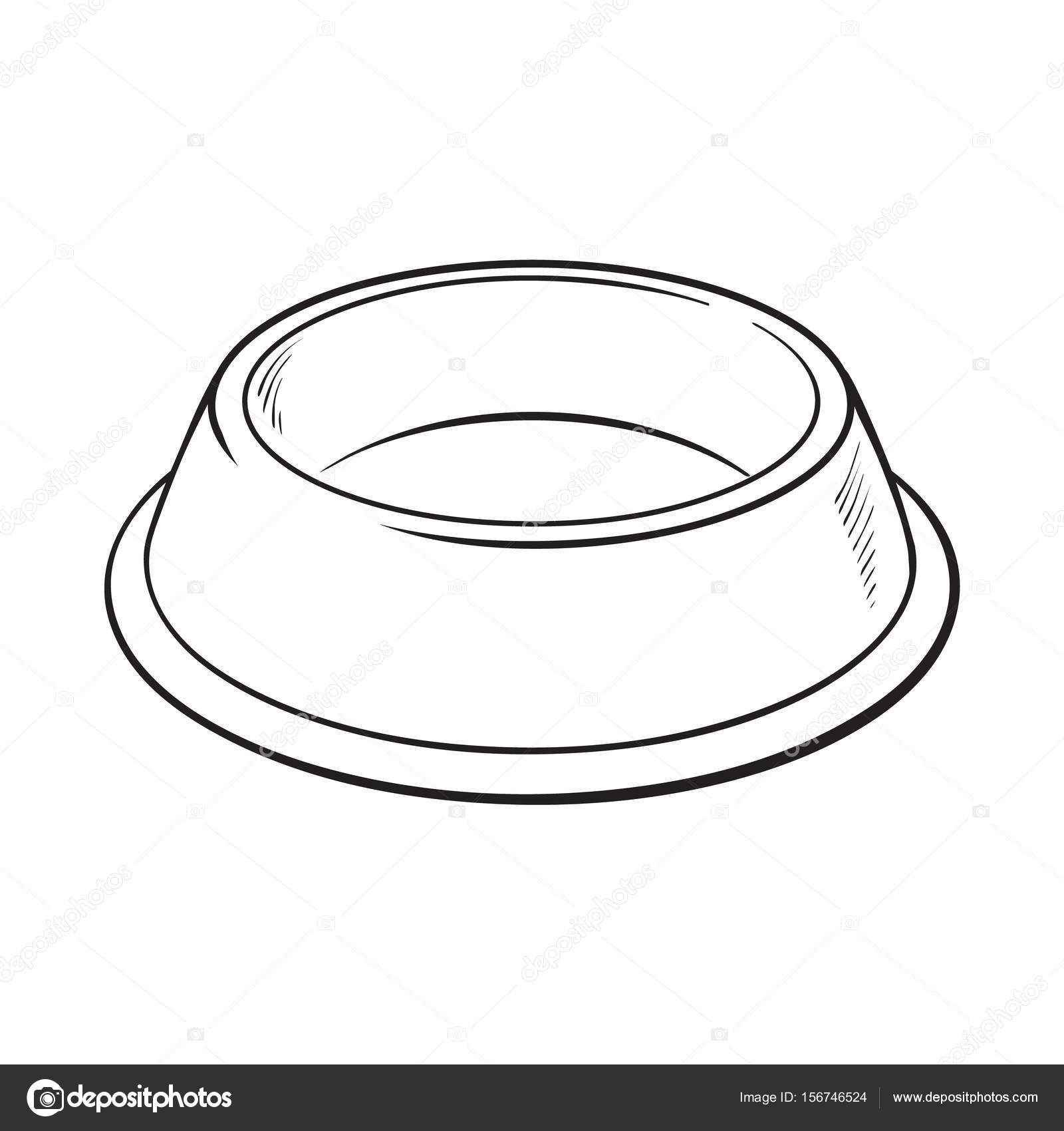 Empty Green Shiny Plastic Bowl For Pet Cat Dog Food U2014 Stock Vector U00a9 Sabelskaya #156746524