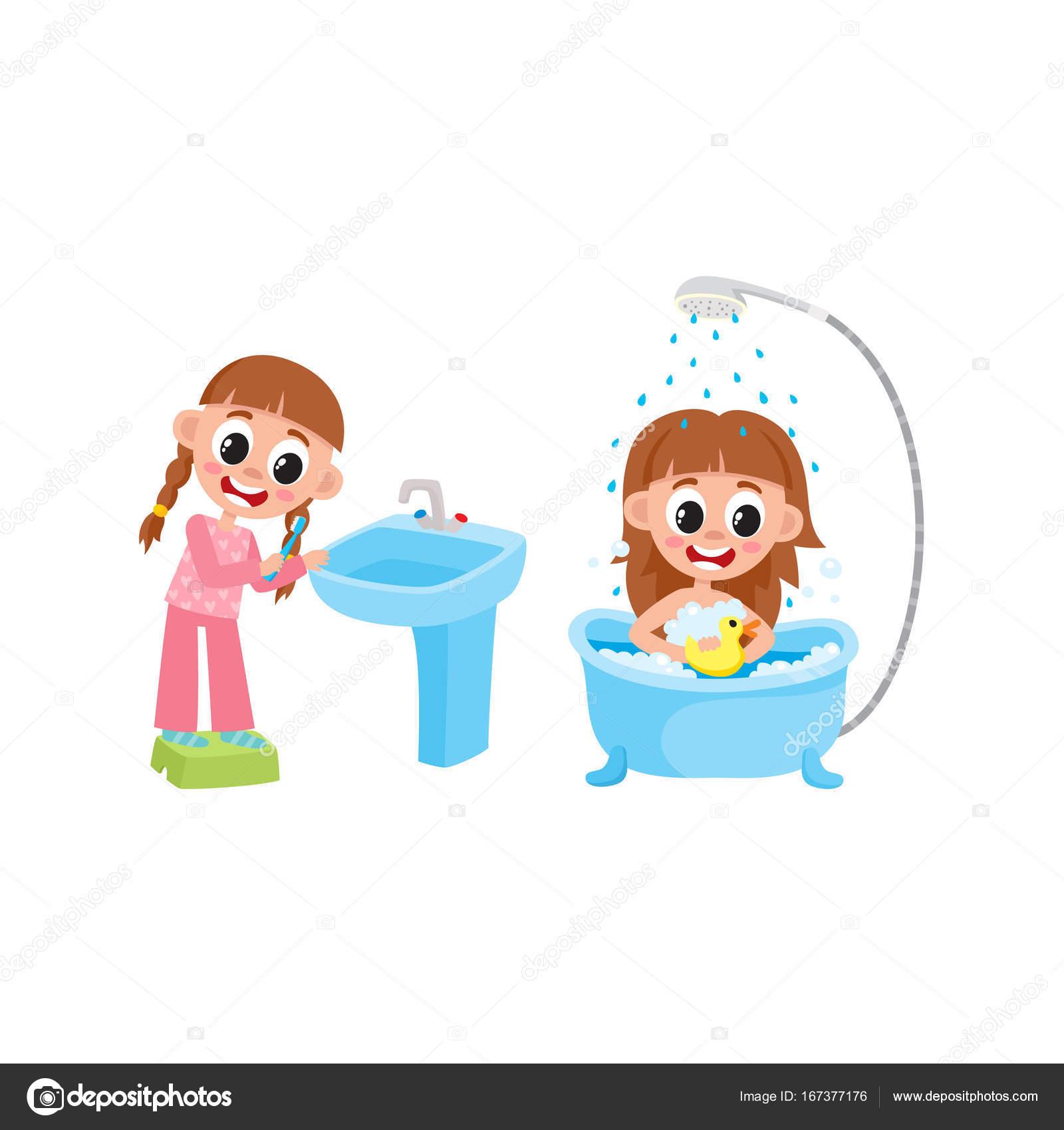 Kendi eller için bir yıkama standı