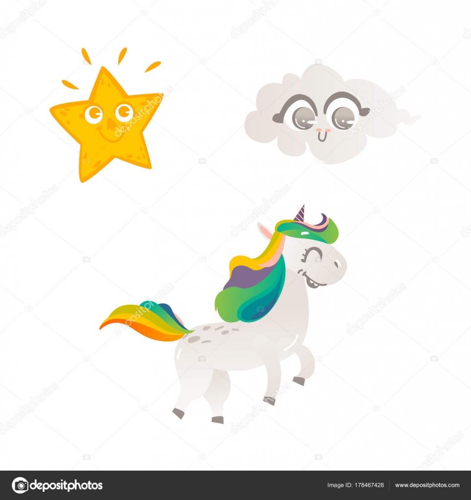 Fondo Seres Vivos Personaje De Unicornio De Dibujos Animados