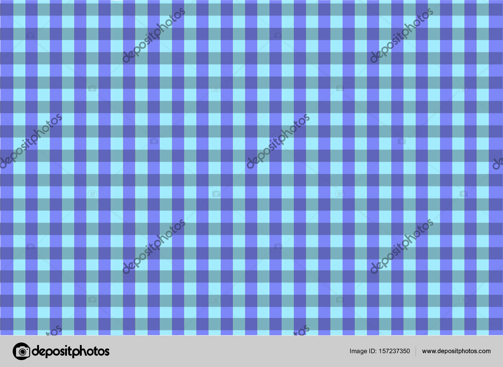 Blue And Purple Vintage Checkered Tablecloth Texture U2014 Stock Photo