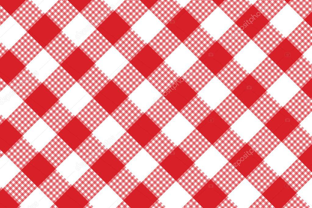 455ca1a30be Κόκκινο Καρό Μοτίβο Άνευ Ραφής Υφή Από Ρόμβος Πλατείες Για — Διανυσματικό  Αρχείο © AlemTMA #194446940