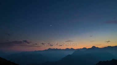 Day to night time lapse stock video art siberia 23672801 day to night time lapse from high up on the alps colorful sunset over mountain ccuart Images