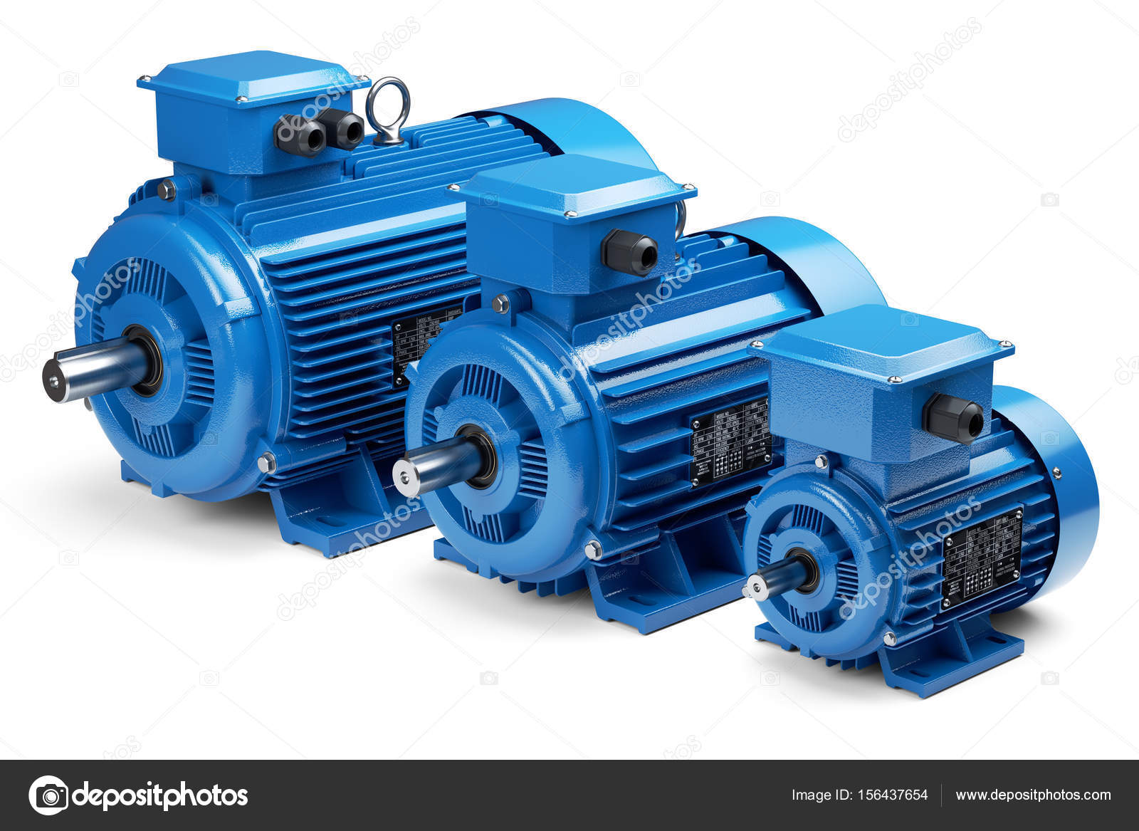 electric generator motor. Three Industrial Electric Motors \u2014 Stock Photo Generator Motor