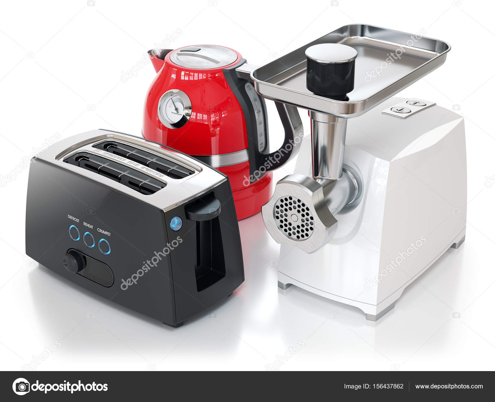 Kitchen Appliances Set U2014 Stock Photo