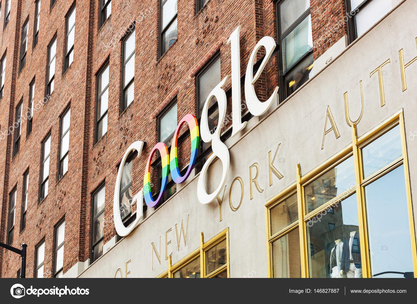 Google Hoofdkwartier Londen : Buitenaanzicht van een google hoofdkwartier bouwen nyc