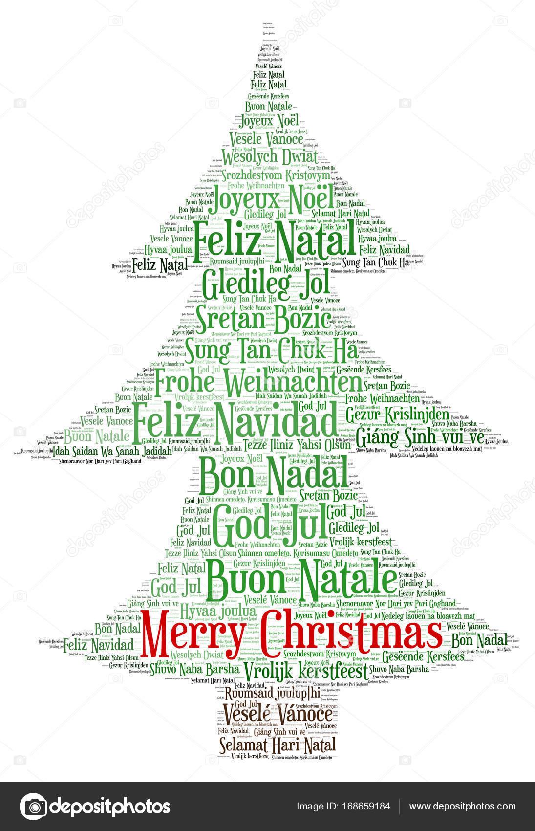 Parole Di Buon Natale.Parole Cloud Di Buon Natale In Tutte Le Lingue Del Mondo
