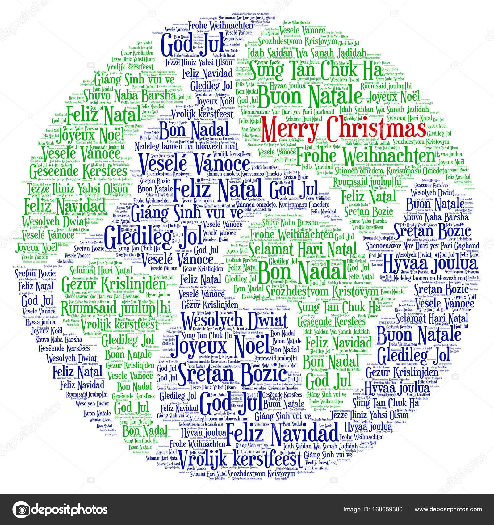 Frohe Weihnachten Verschiedene Sprachen Kostenlos.Worter Wolke Frohe Weihnachten In Allen Sprachen Der Welt
